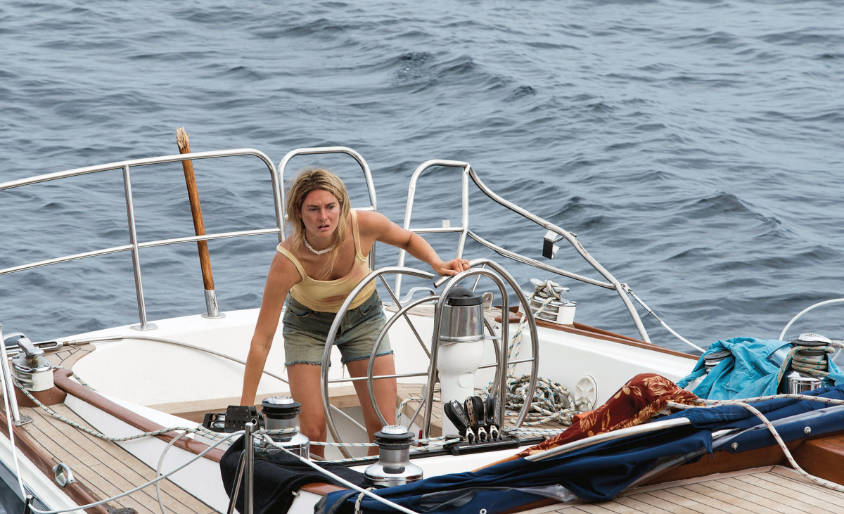 Shailene Woodley as Tami Oldham in the recently released movie Adrift