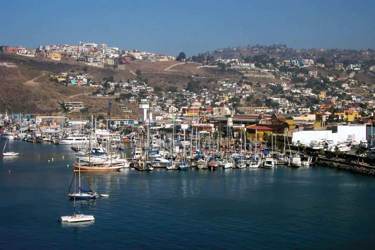 Where it all begins when heading south: Ensenada