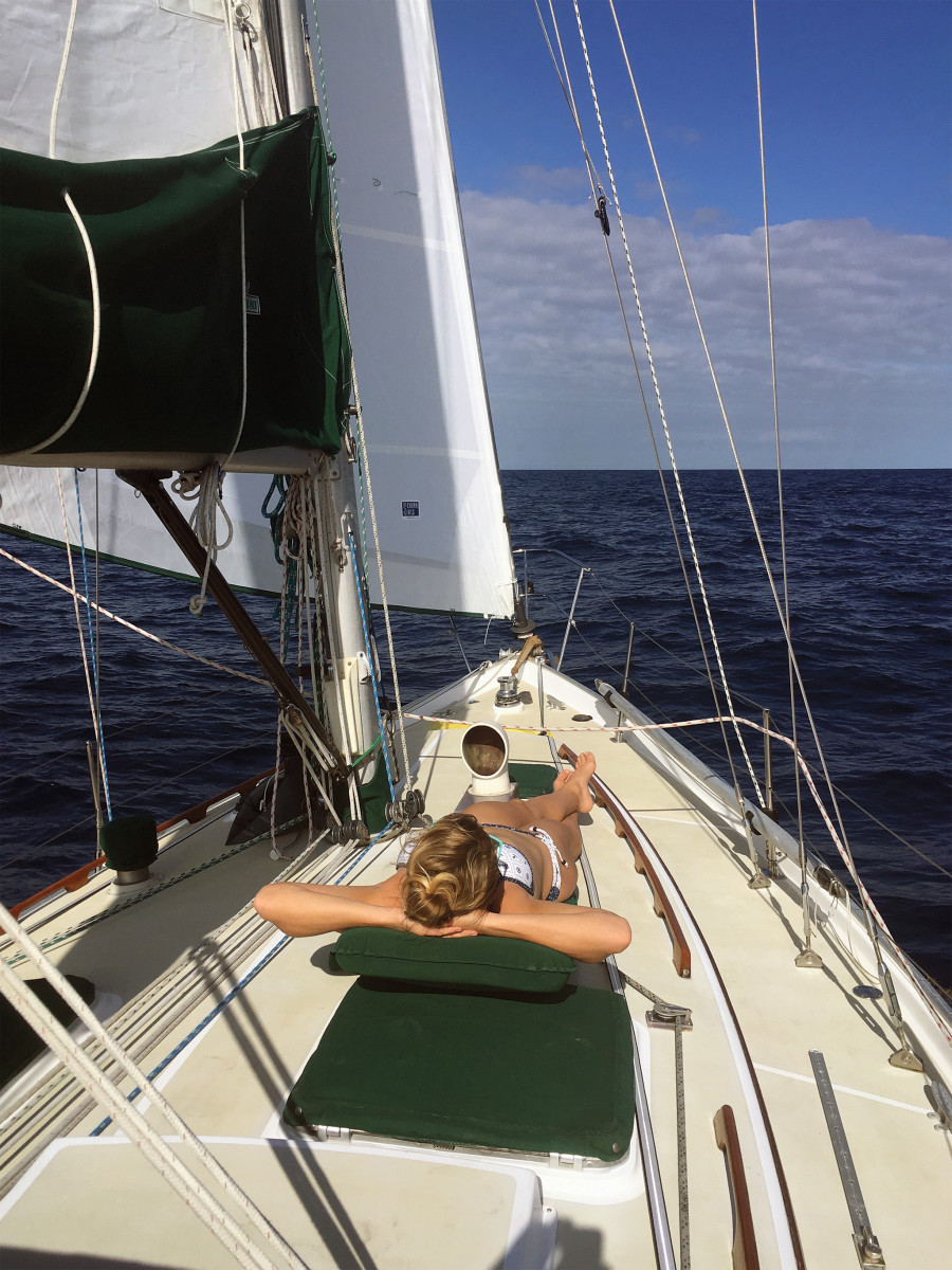From the sublime to the ridiculous: lazy warm-weather sailing