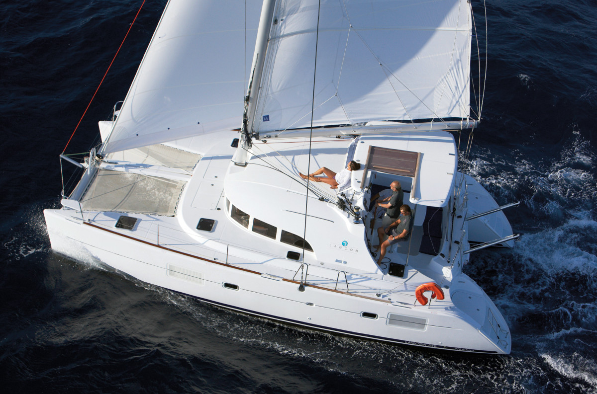 The evergreen Lagoon 380 is one of the most popular catamarans ever