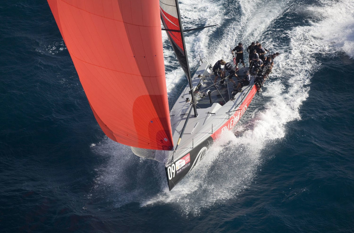 New Zealand's old Audi MedCup boat gives some idea what AC36 could be like