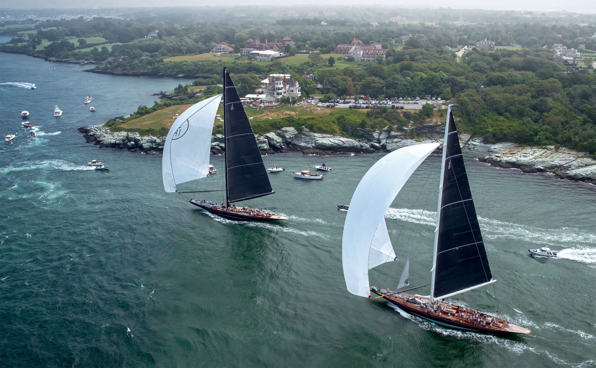 Newport served as an absolutely spectacular backdrop to the J Class worlds
