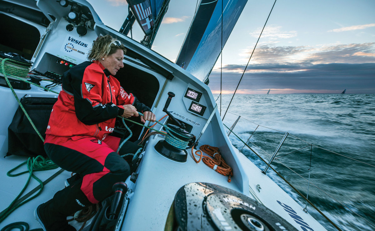 The 2017-18 VOR will have a larger contingent of female sailors than ever before