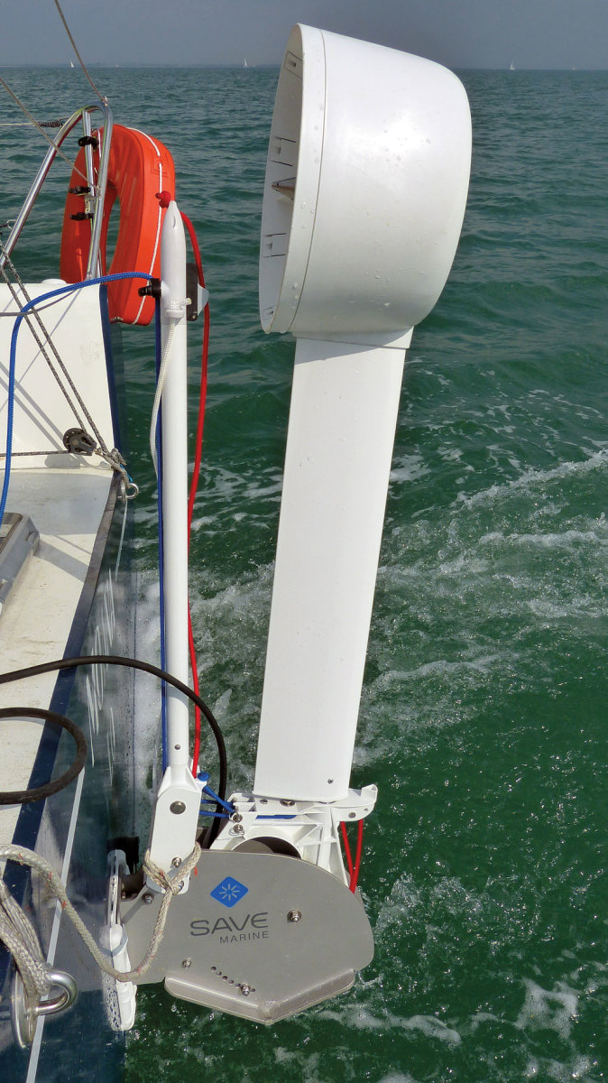 Save Marine's innovative product features a cowl around the impeller to accelerate water flow