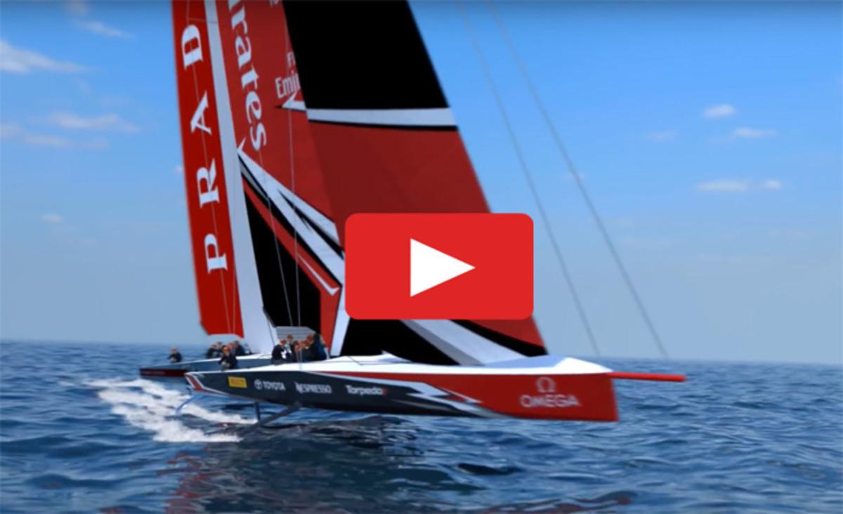 A Revolutionary America's Cup Boat - Sail Magazine