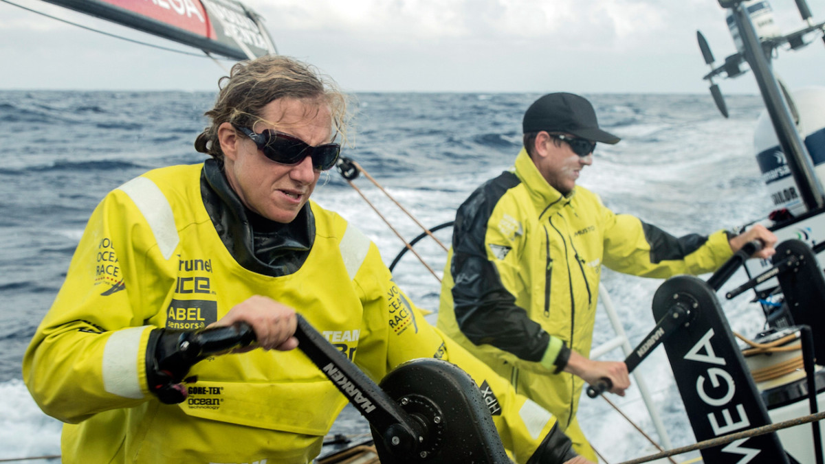 Brunel's Annie Lush is back for another stab at Southern Ocean sailing in the 2017-18 Volvo Ocean Race