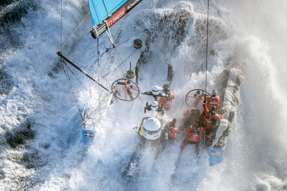 Just keeping the boat in one piece is a big part of success when racing through the depths of the Southern Ocean