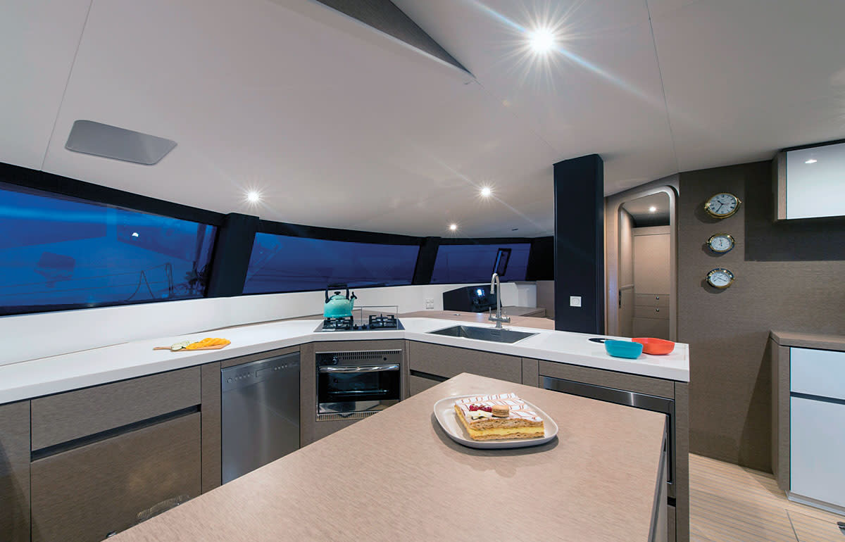 The Neel 51 offers a tremendous amount of living space