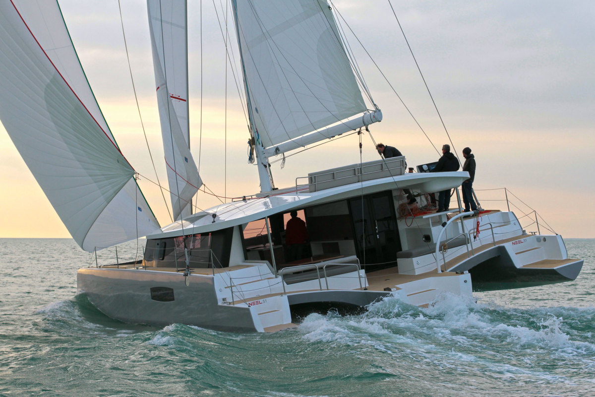 A compelling case for cruising on three hulls