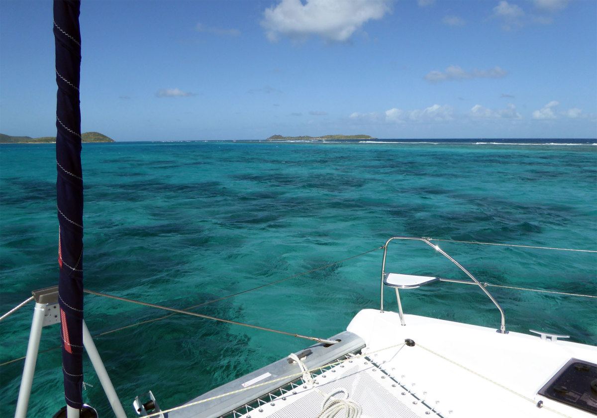 Eustatia Sound, on the top of Virgin Gorda, is a stunning anchorage
