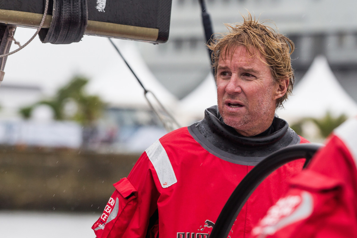 Three-time Volvo Ocean Race veteran Ken Read is also president of North Sails, which is equipping the boats in this year's event with its 3Di canvas
