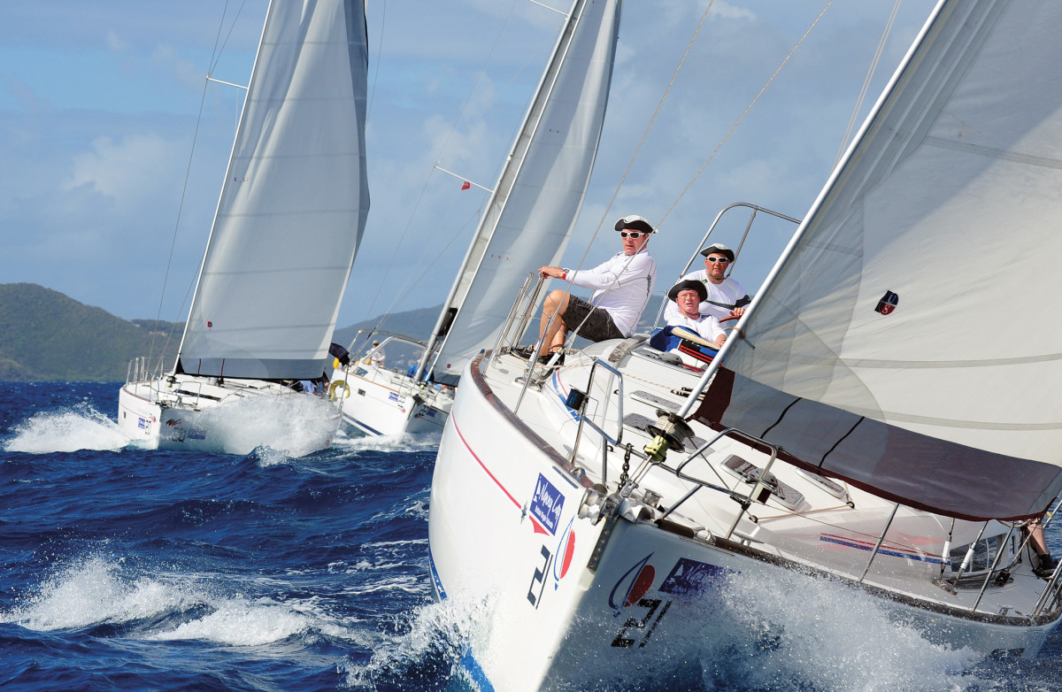 Do not think that bareboat racing is any less competitive than any other kind of sailboat racing