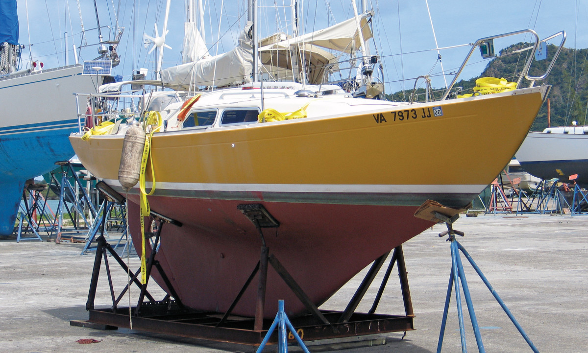 Expect a comfortable ride on a full-keel boat