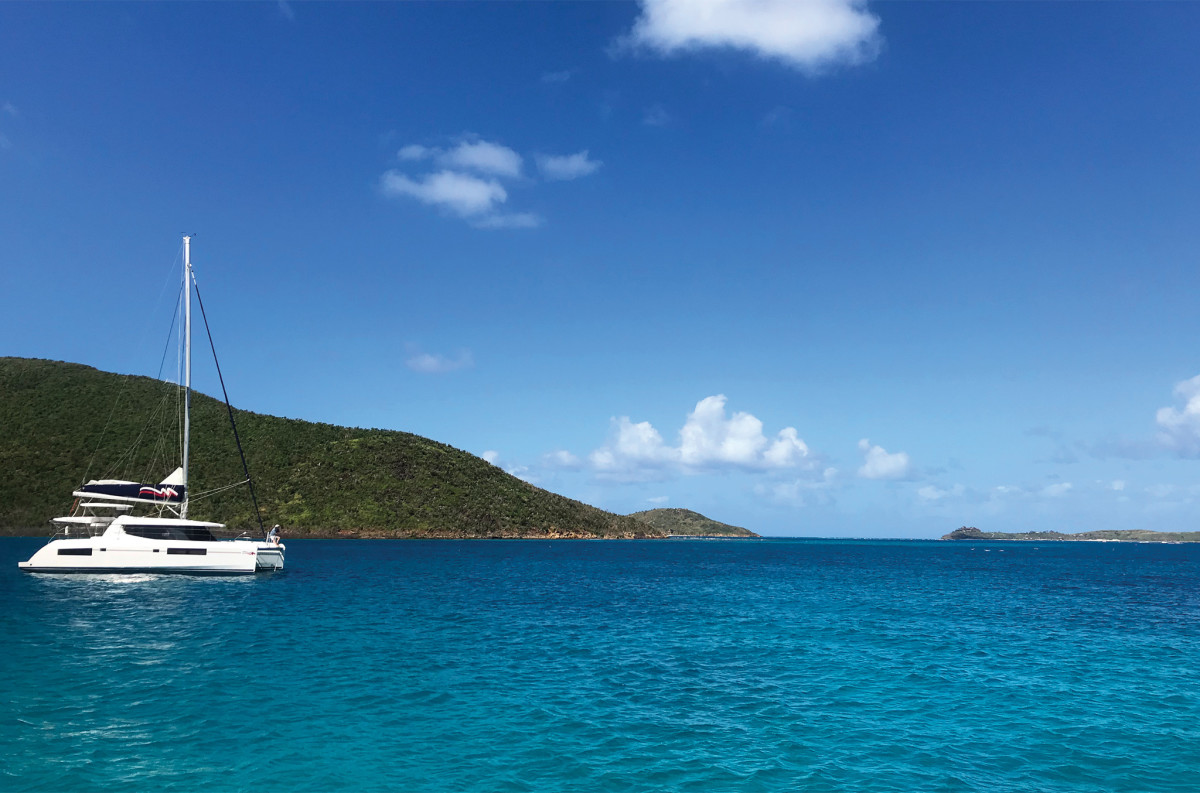 On the top side of Virgin Gorda, Eustatia Sound is an excellent—and uncrowded—anchorage
