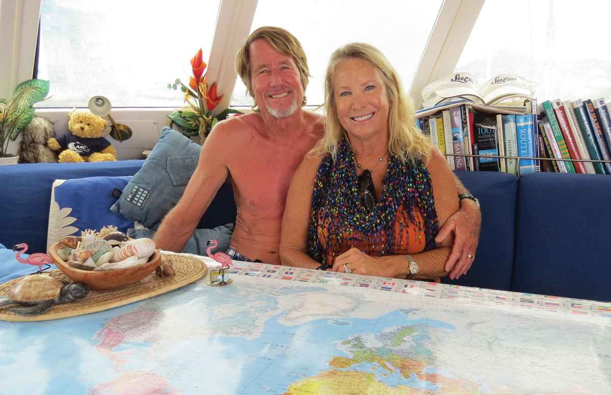 Eric and Tamara were winding up a 10-year circumnavigation