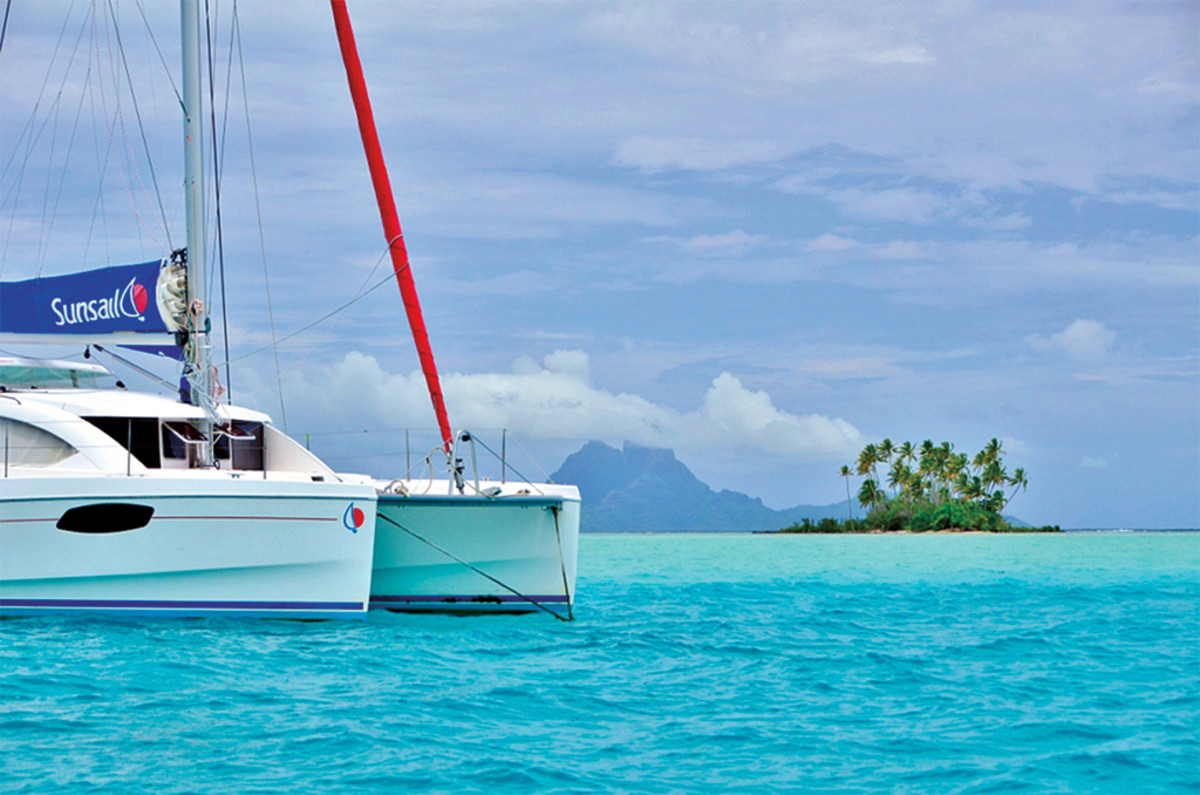 There are few finer places for a bareboat charter than the Society Islands