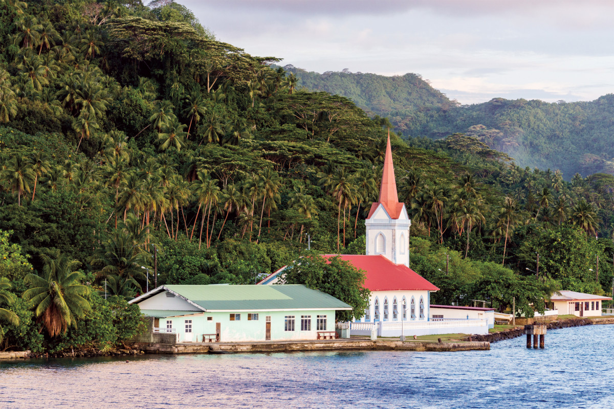 The islands' French colonial past is still widely evident