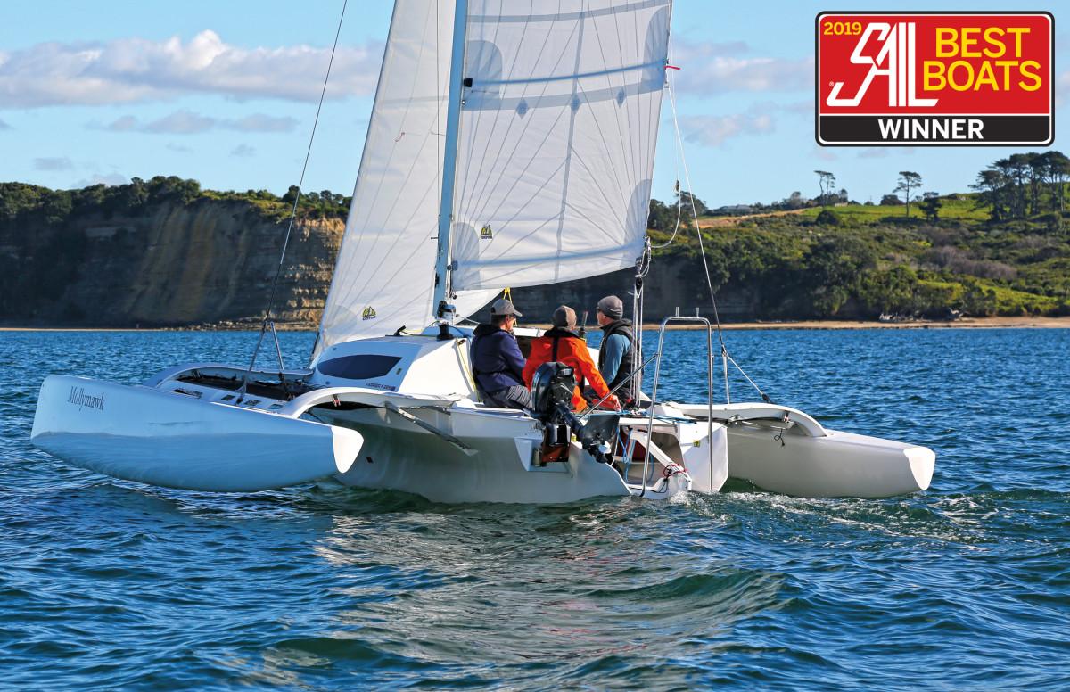 Reviewed: Farrier F-22 Trimaran - Sail Magazine