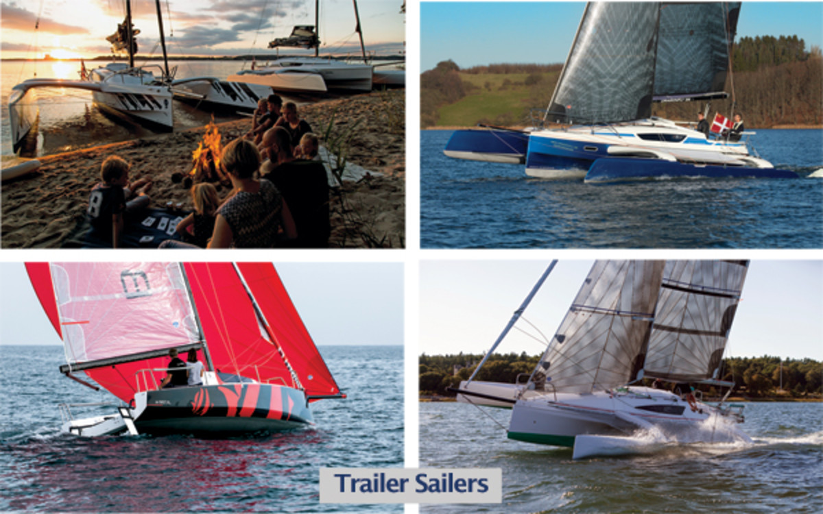 Trailerable Boats with Comfort and Speed - Sail Magazine