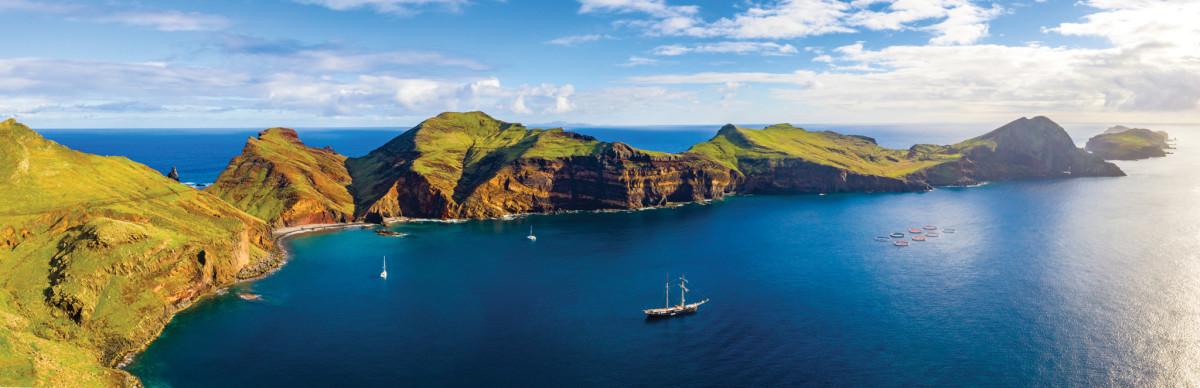 The wild beauty of Madeira's coast rewards the cruising sailor