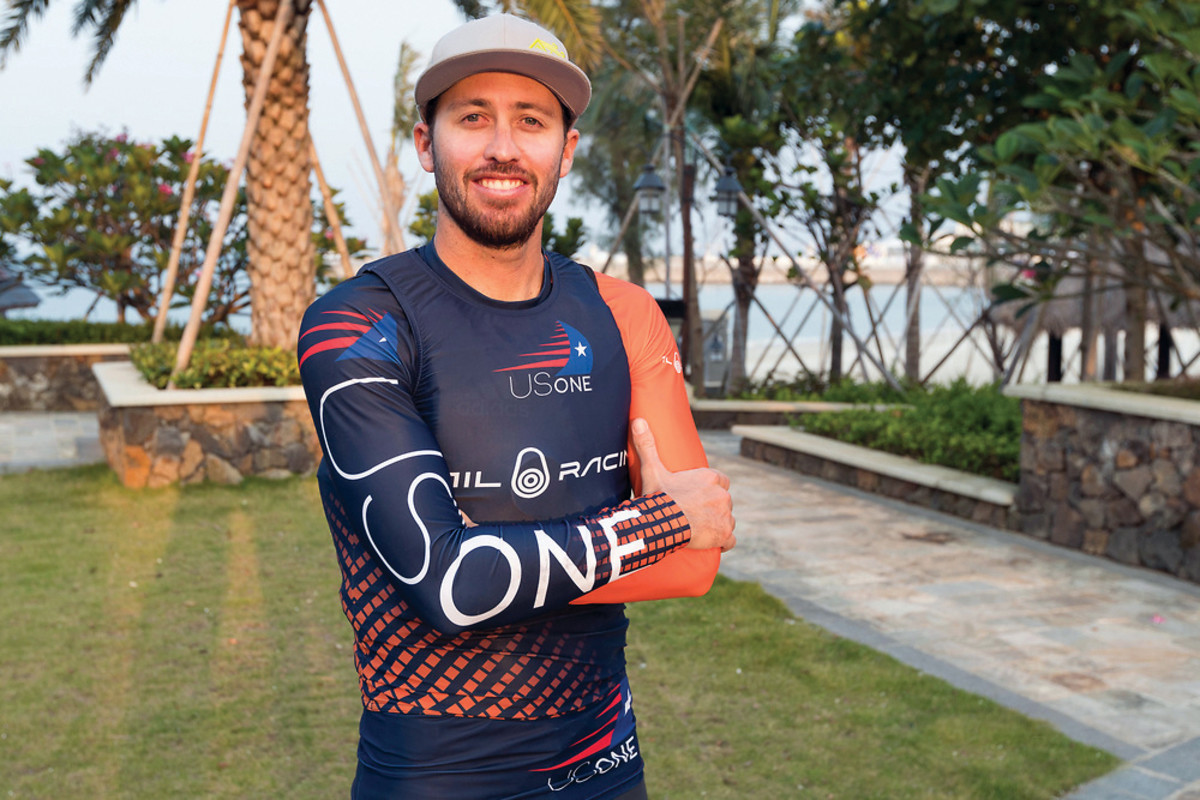 Taylor Canfield has his sights on the America's Cup
