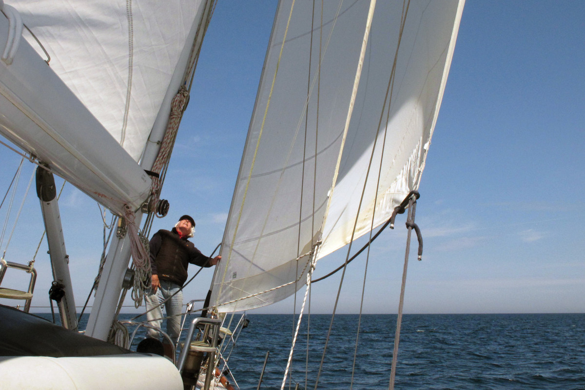 Take the time to look at the shape of your sails