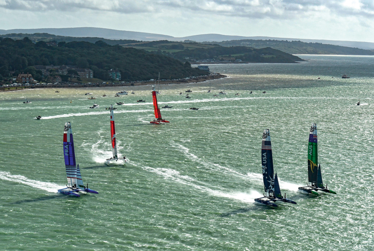 Gale-force plagued the regatta