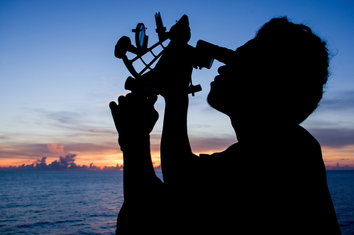 Celestial navigation is a lost art in the age of GPS