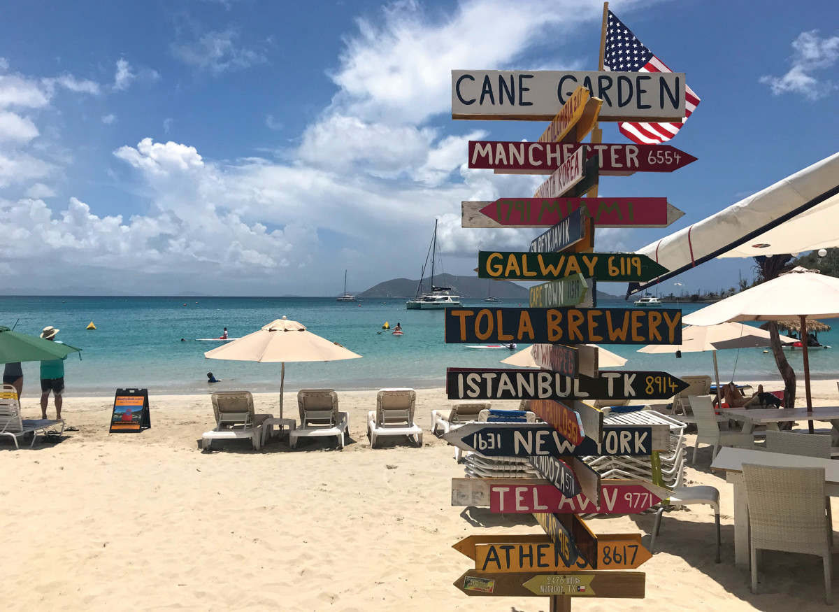 It doesn't matter where you're from, you'll feel at home on Jost van Dyke