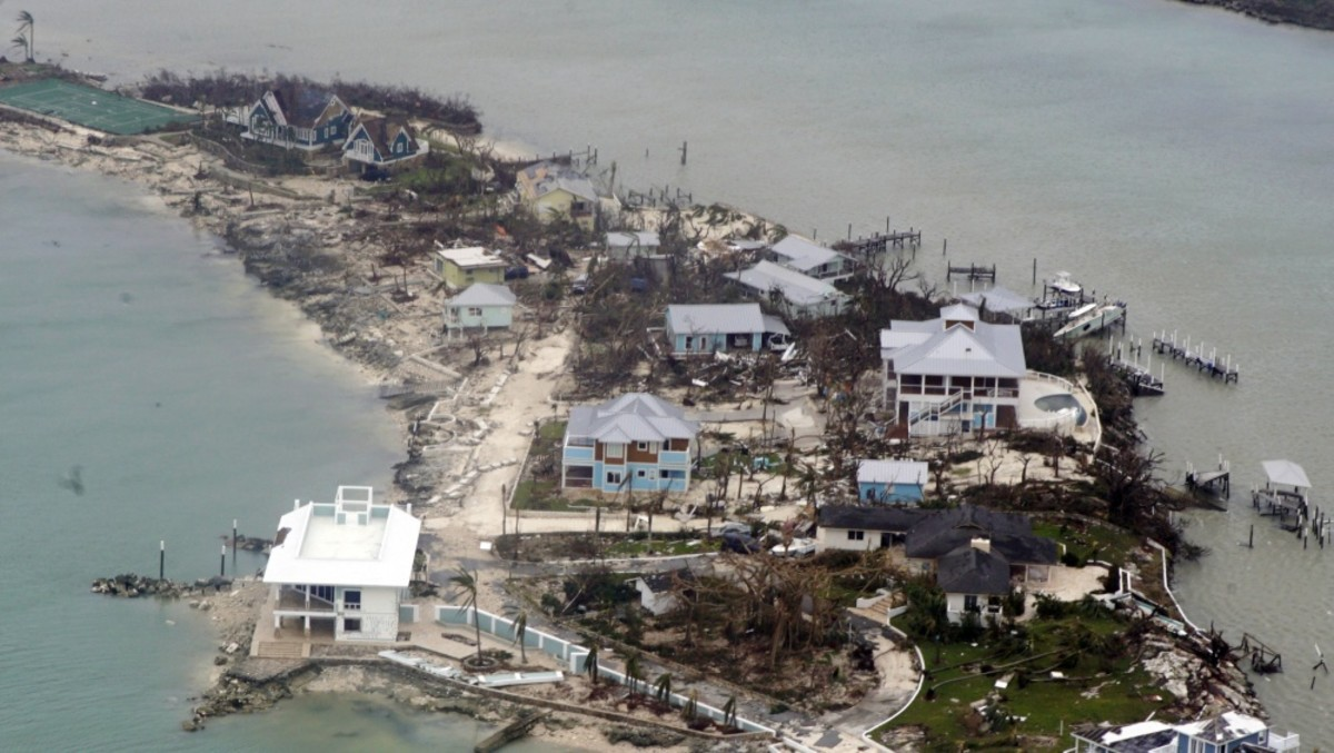 It will take a lot of time, effort and money for The Bahamas to recover from Hurricane Dorian. Photo courtesy of U.S. Coast Guard