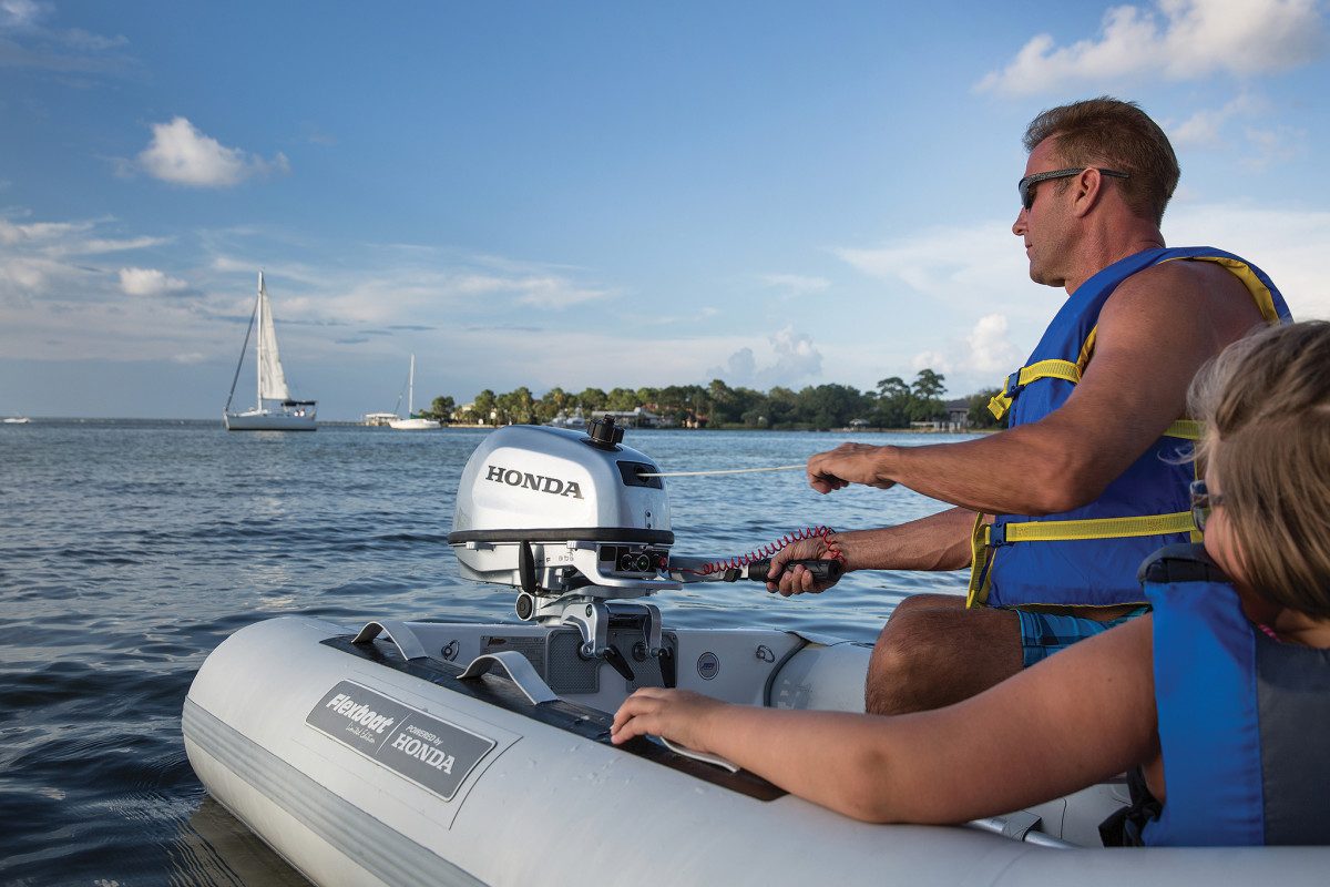 Despite recent advances, four-stroke gas outboards remain the standard