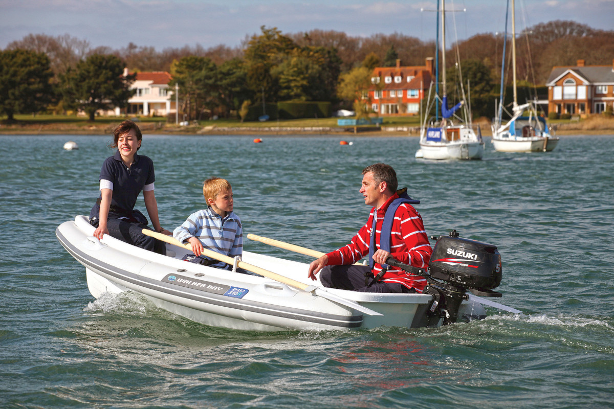 Outboard-powered dinghies are more than just a convenience