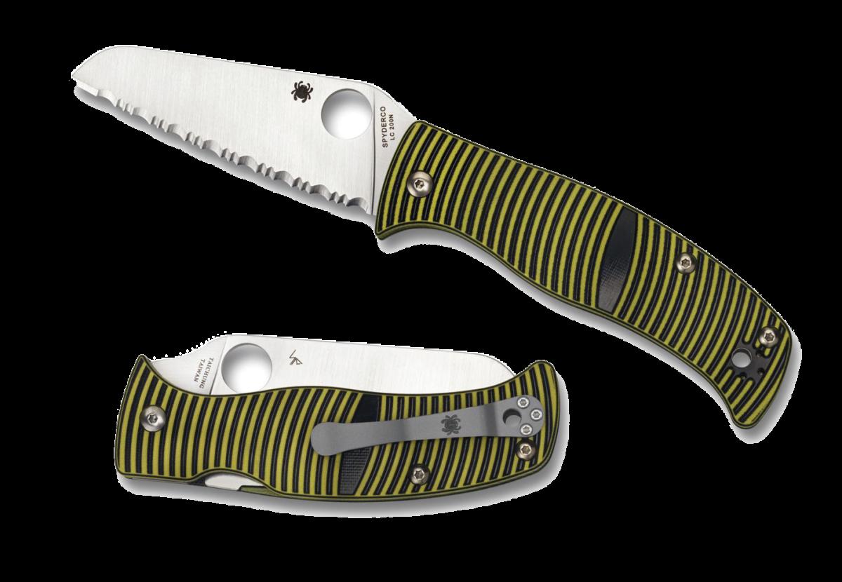 07-spyderco-caribbean-sheepfoot-w-3-d-machined-textured-g-10-spyderedge-folding-knife-yel-v1