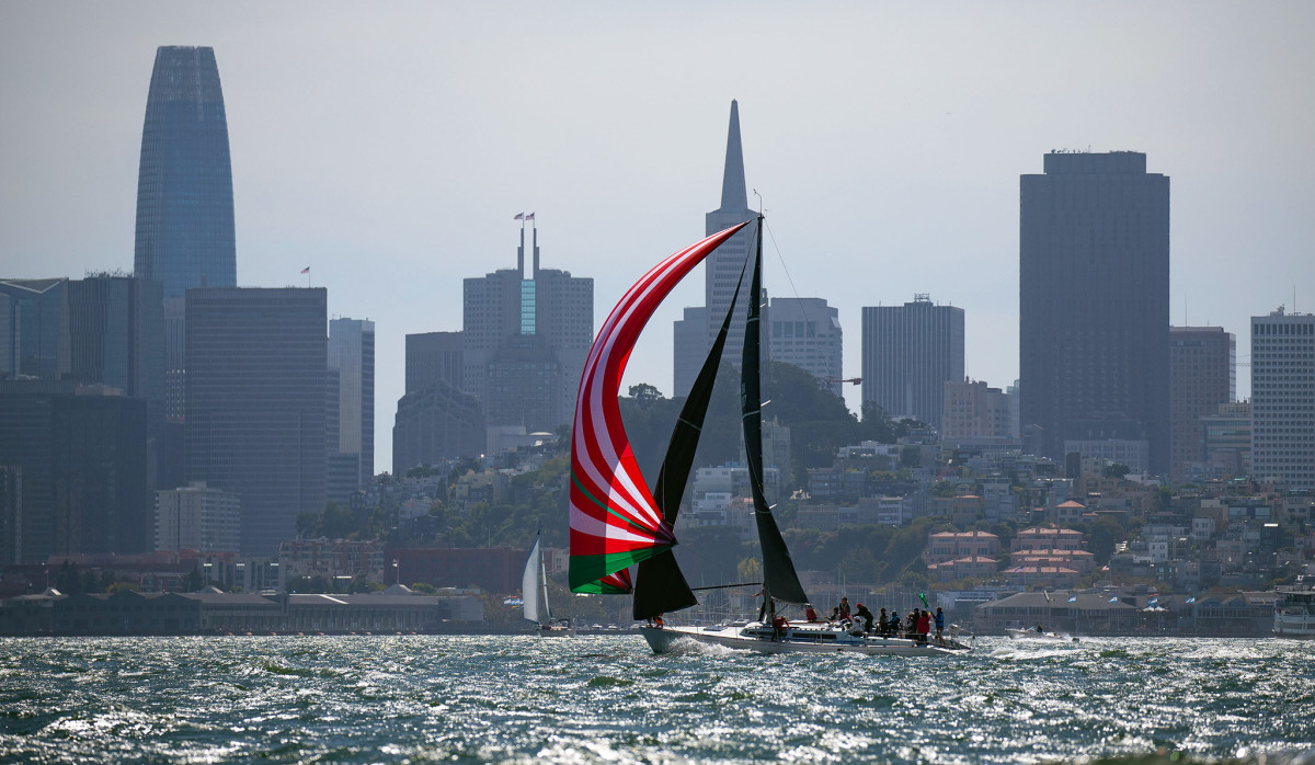 The Rolex Big Boat Series has San Francisco for a backdrop