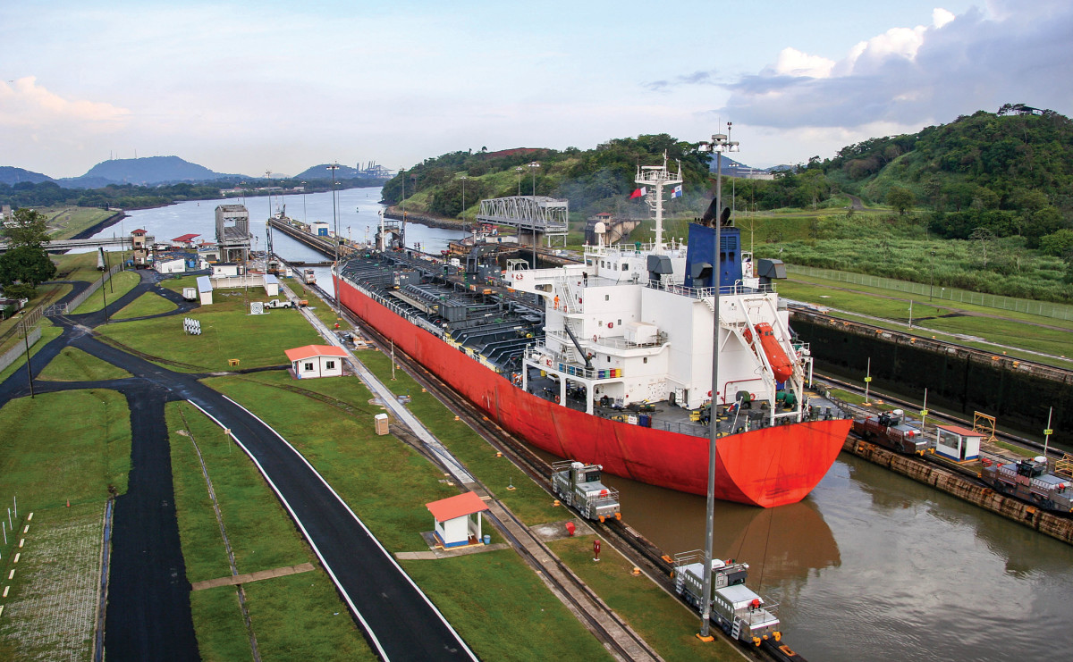 A Panama Canal transit was a long-held ambition of the author's