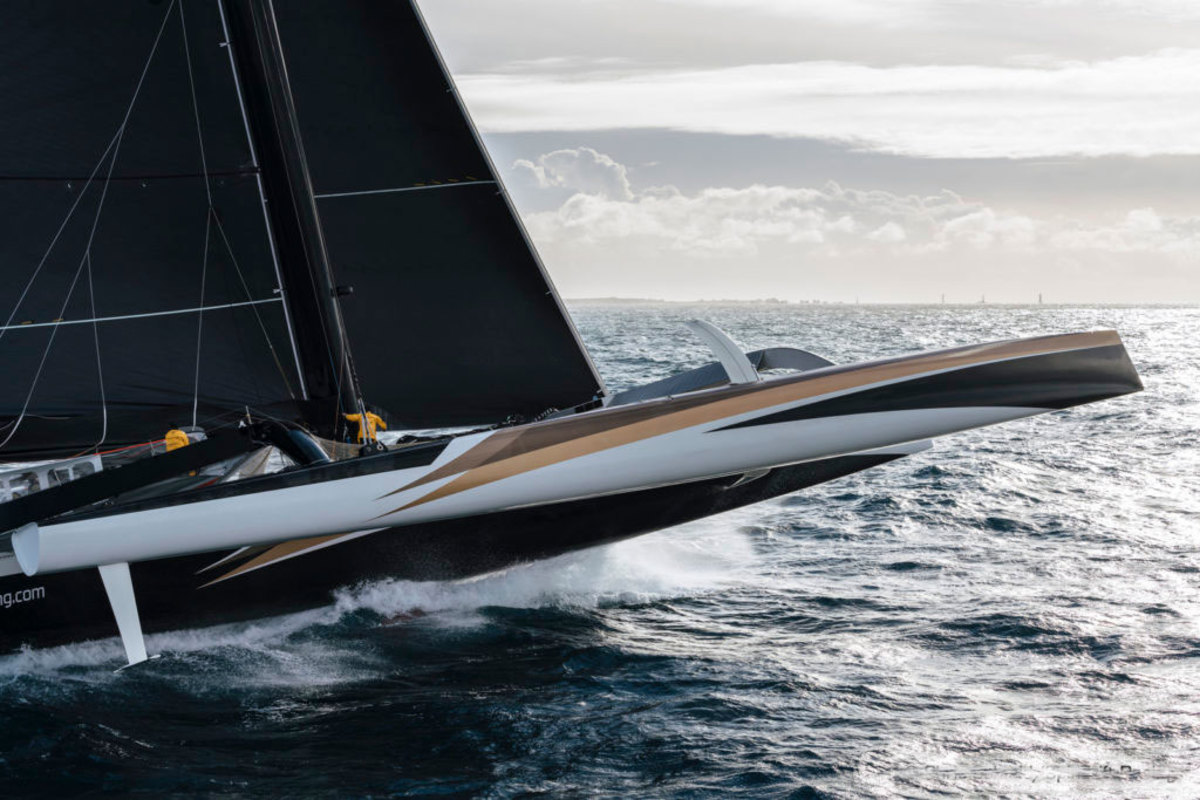 Rudder problems doomed Spindrift 2's latest round-the-world record attempt