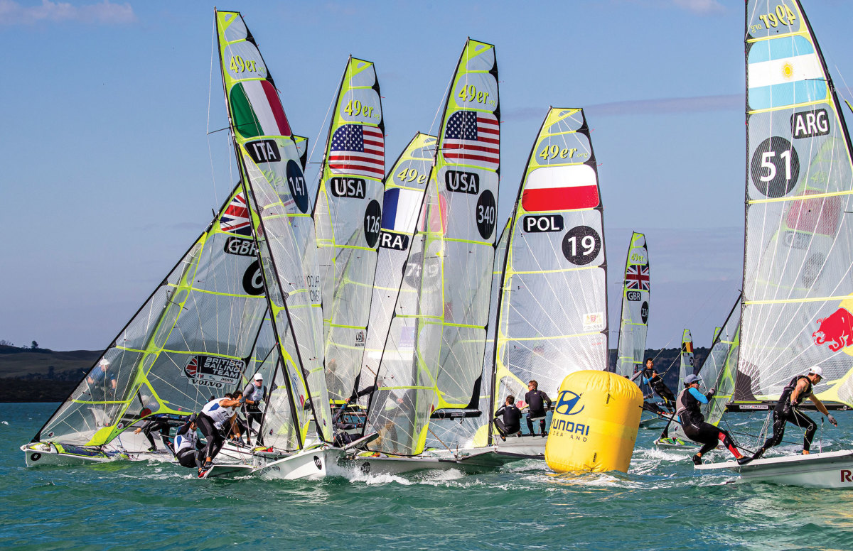 The US Sailing Team has its work cut out for it with stiff competition in every class