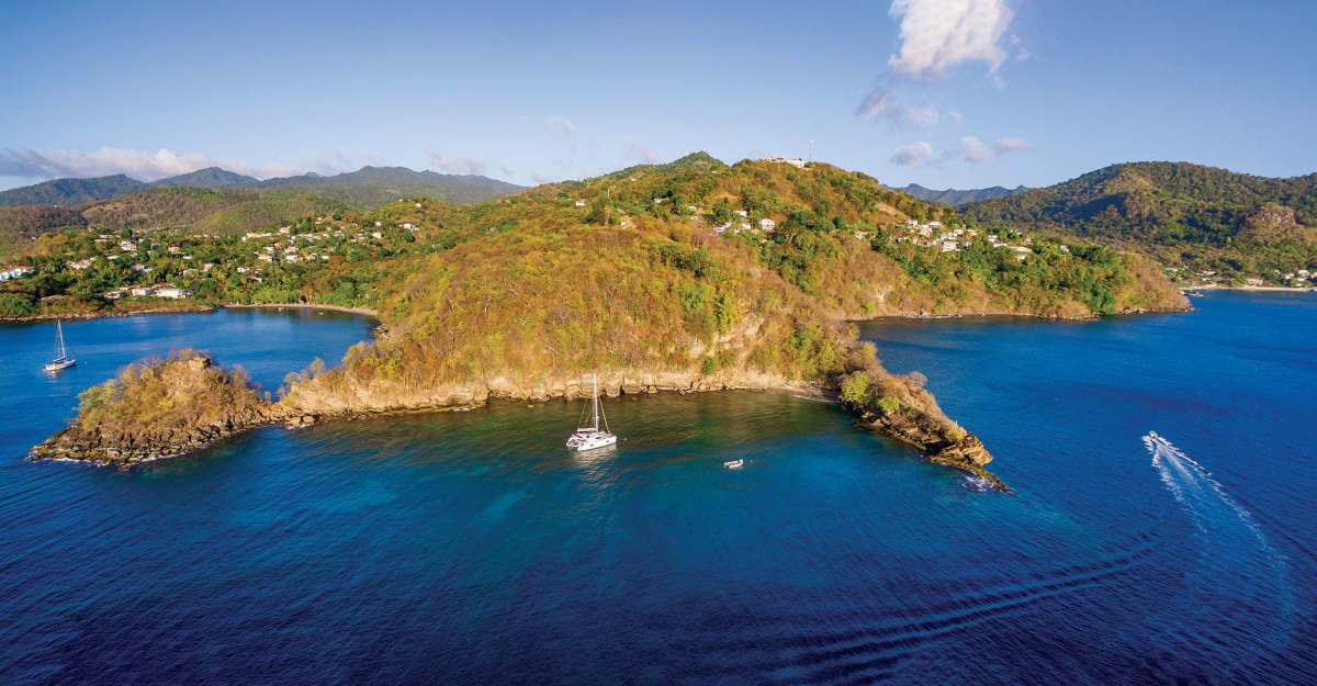 If you like exploring by land as well as by sea,   Grenada ticks all the boxes