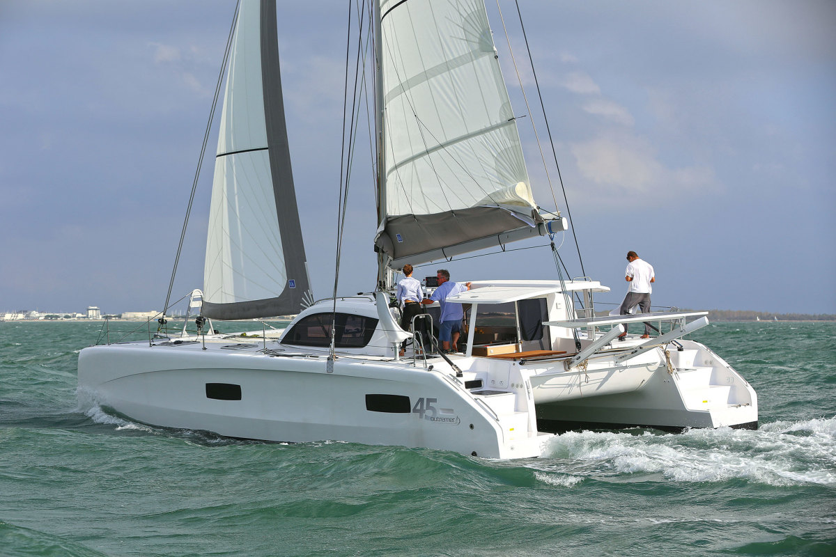 Jimmy Cornell will sail an all-electric Outremer 45 in the wake of Ferdinand Magellan