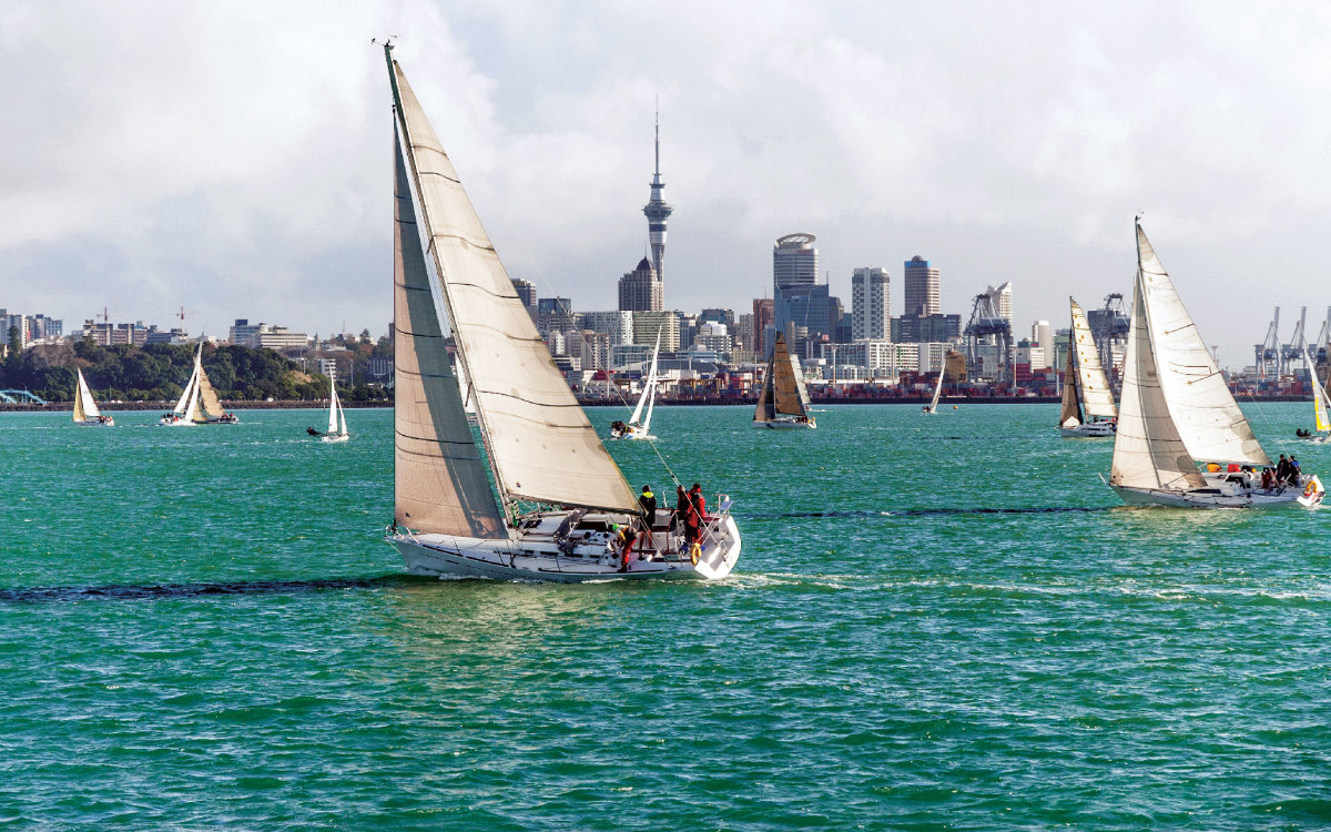 Auckland, New Zealand, is one of the recently announced stopovers for The Ocean Race