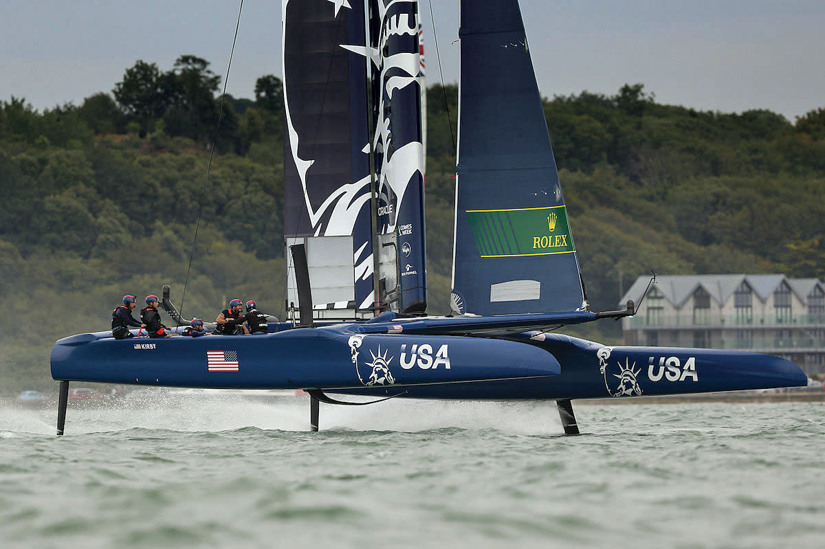 Rome Kirby's U.S. team gears up for the 2020 SailGP series