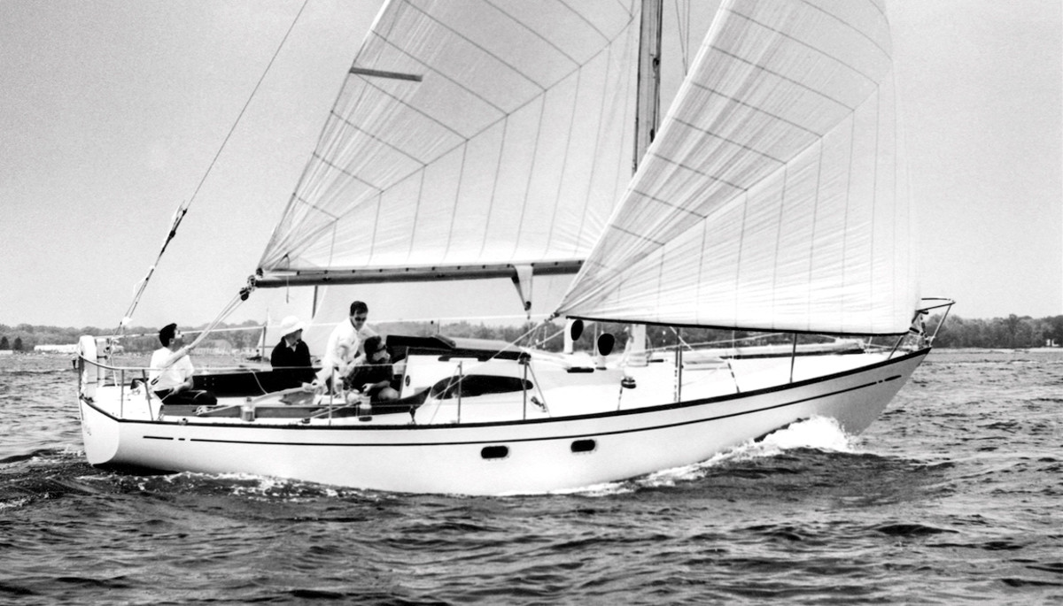 Carter's Medalist, Rabbit, was his introduction to the world of offshore racing