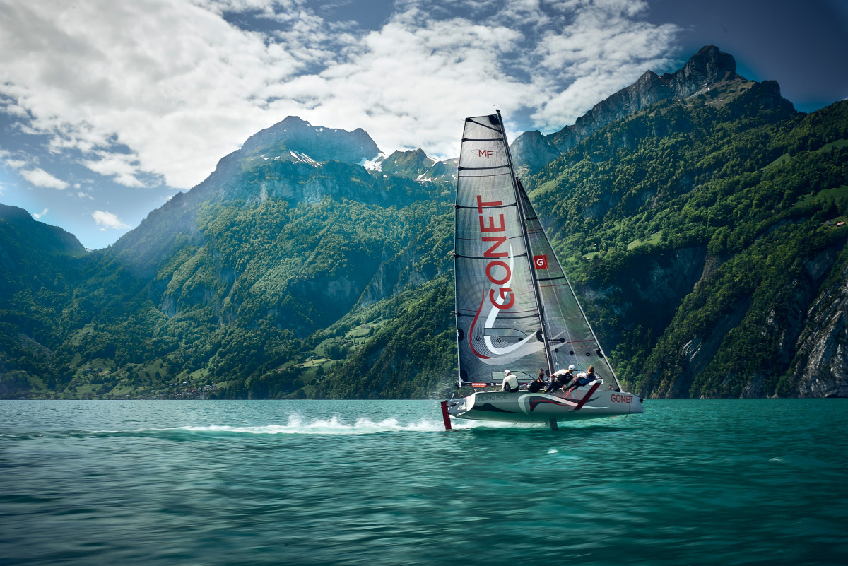 Sailing at Altitude