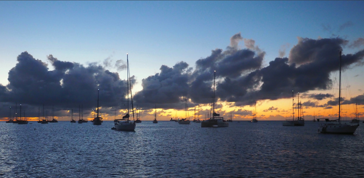 Night falls in the Caribbean, bringing with it new fears for a young mother