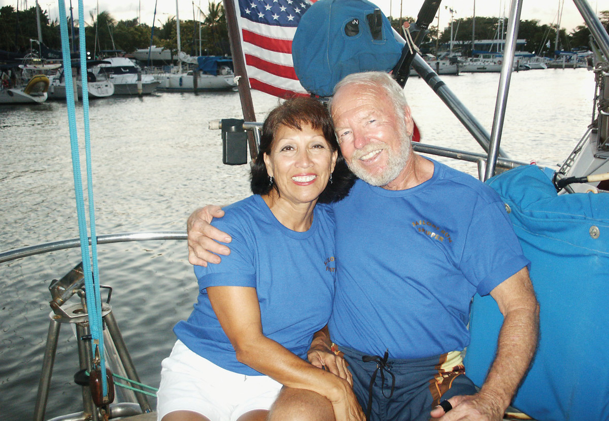 Jeff and Debbie have cruised together for tens of thousands of miles