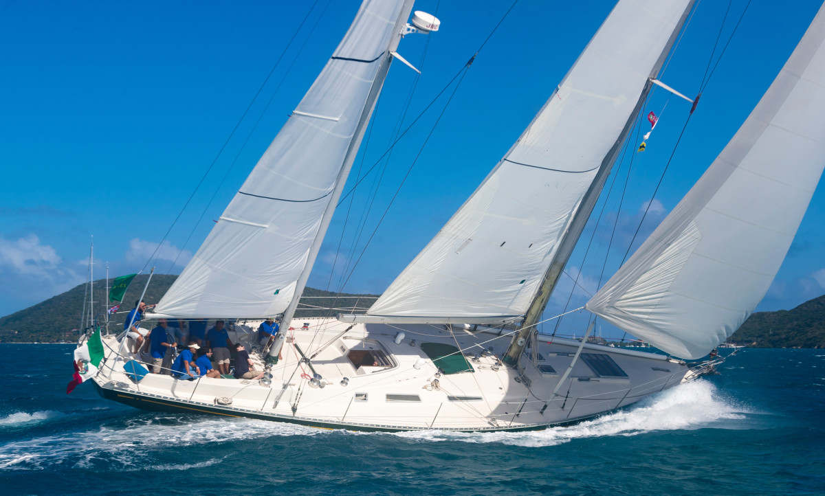 Fast and beautiful, Sayula II is still being sailed hard today