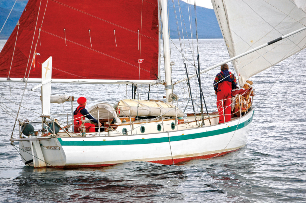 Wanderer III's owners are still sailing long distances in the famous boat
