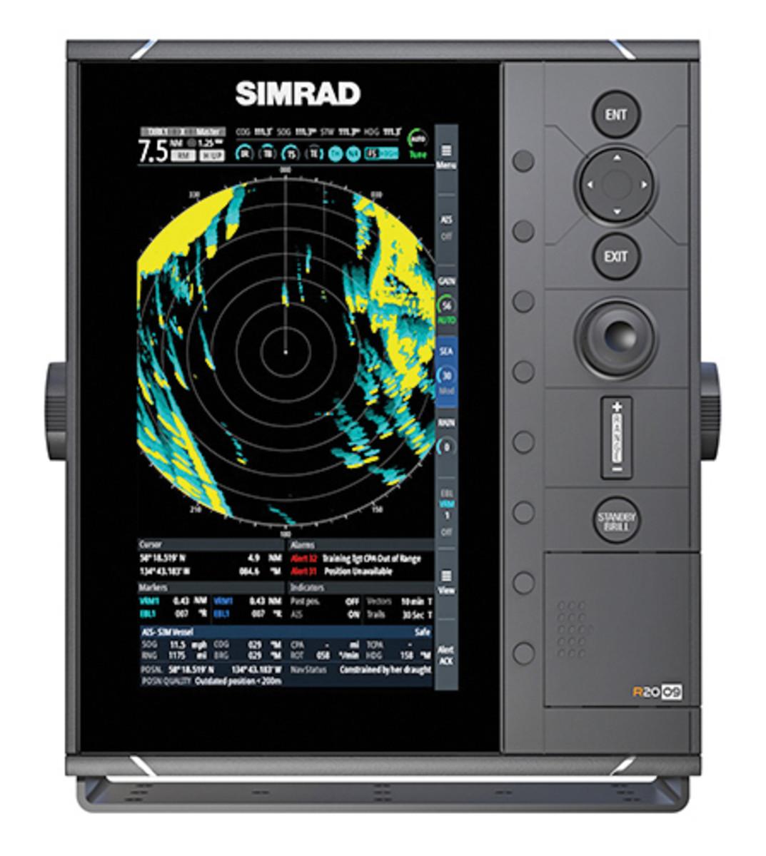 Simrad-radar-standalone-display