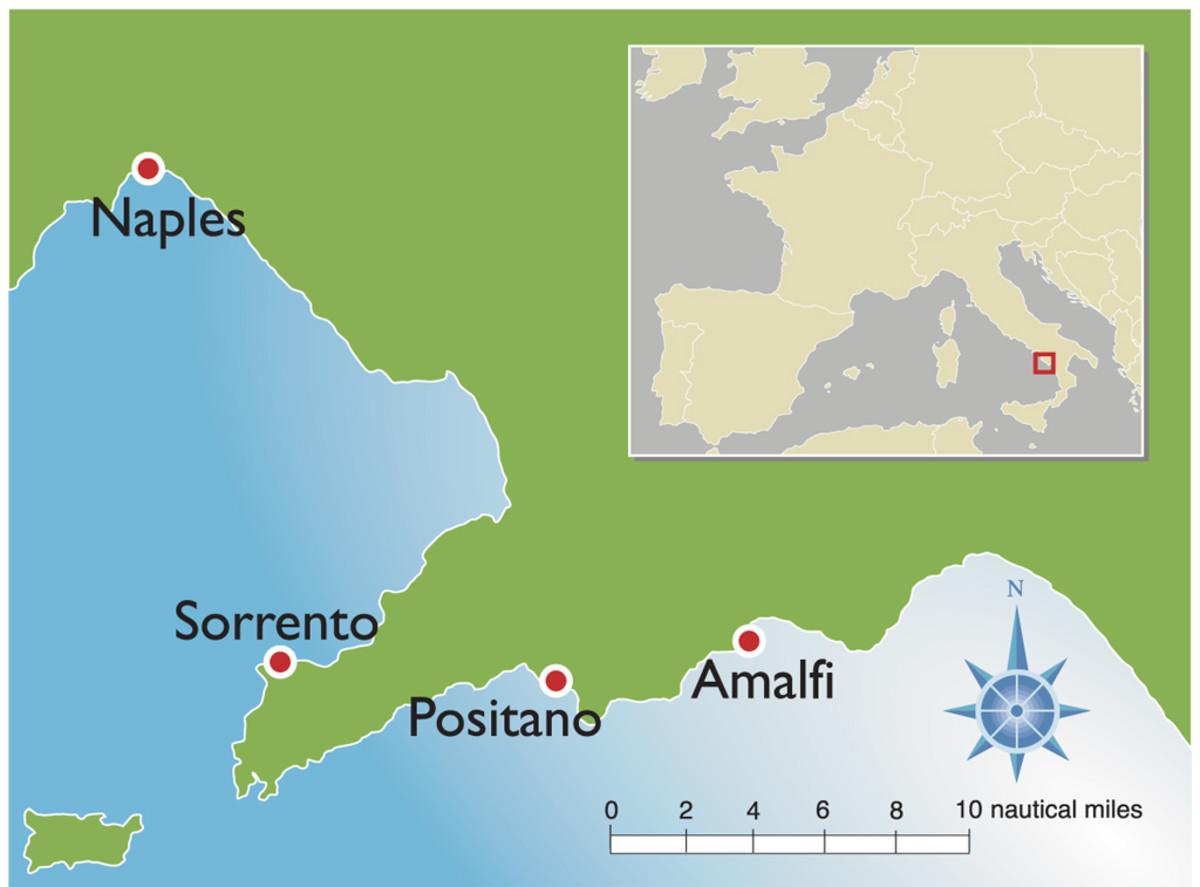 Charter Destination Amalfi Coast Sail Magazine