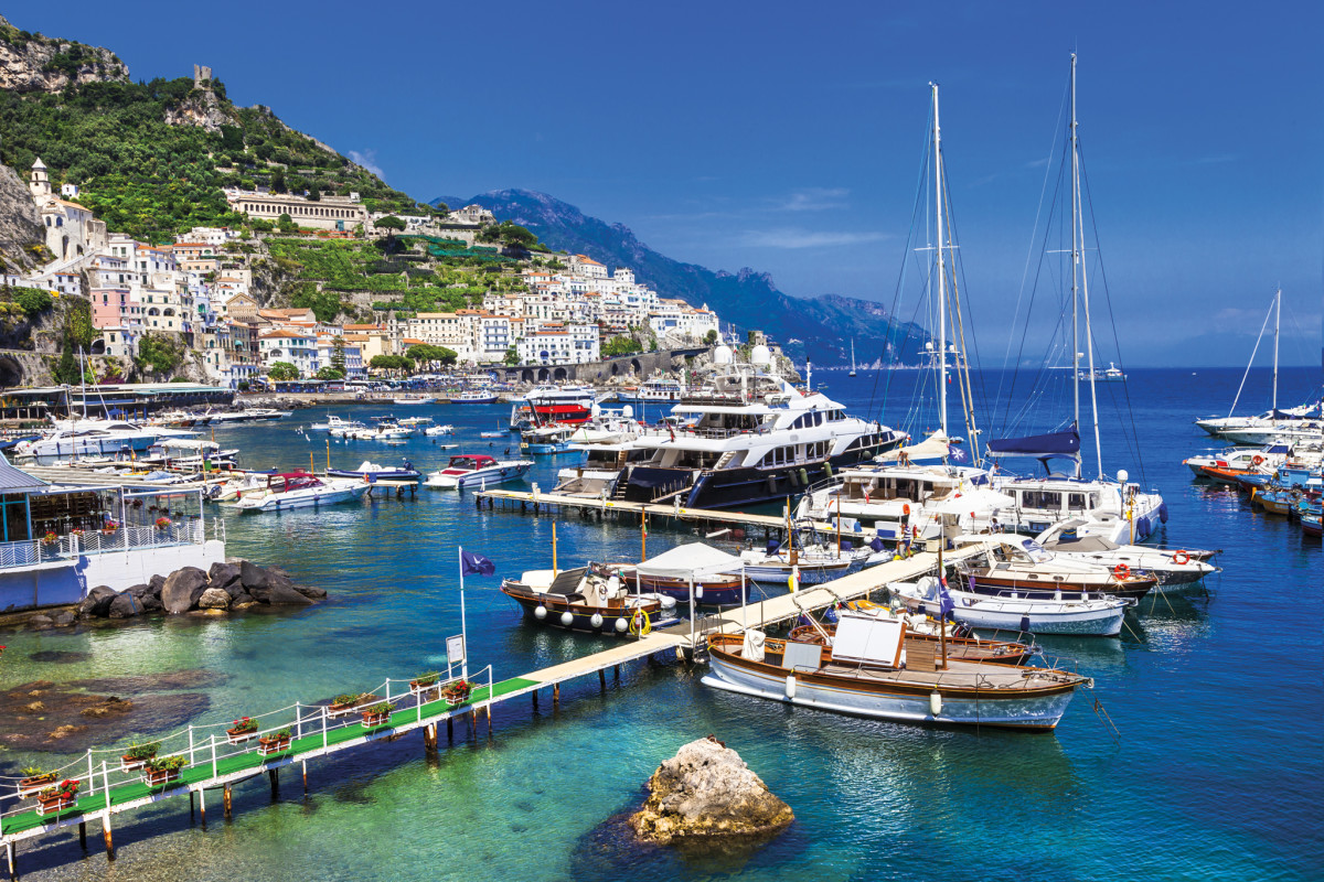 The Amalfi coast is justly renowned for its stunning beauty